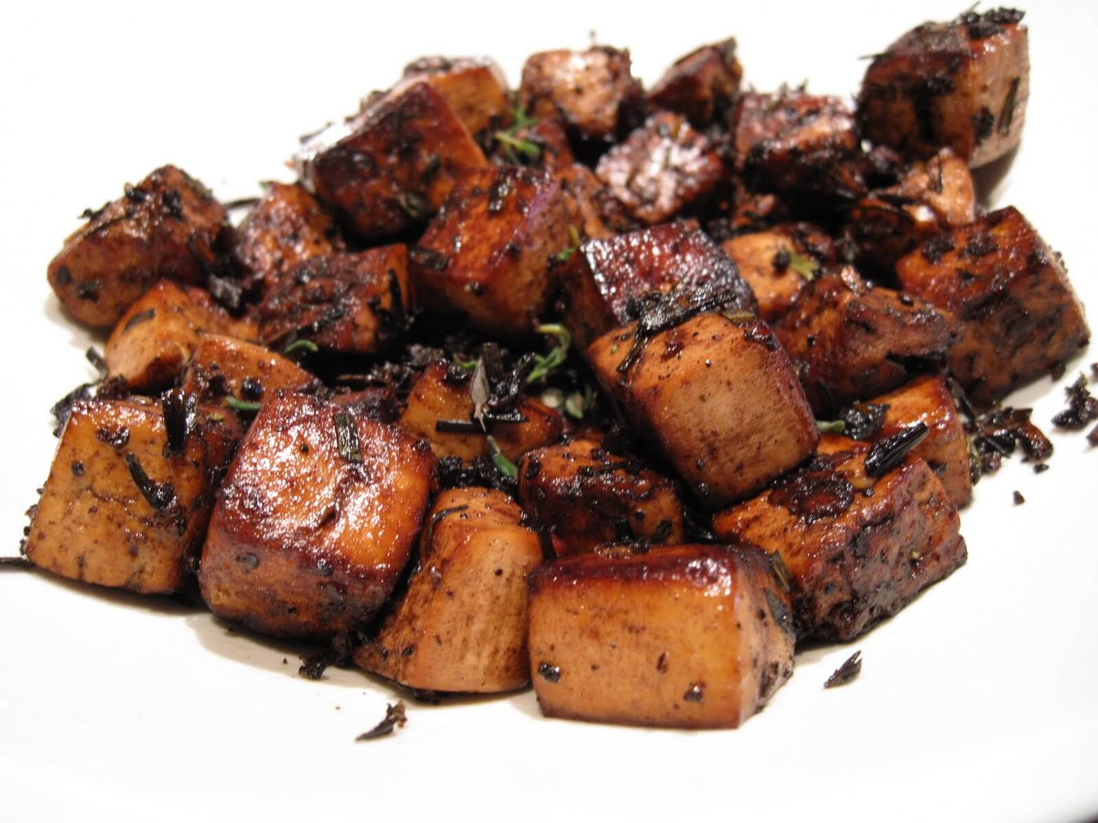 The Best Basic Balsamic Tofu Recipe