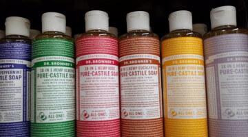 Vegan Face Wash: Dr. Bronner's Gentle Formula