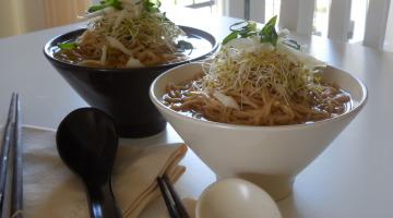 Spiced Ramen Noodle Soup