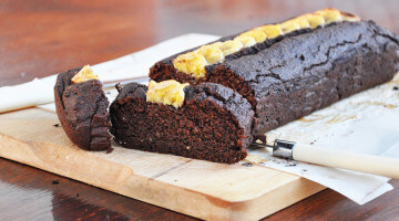 Vegan Chocolate Banana Brownie Bread Everyone will Love