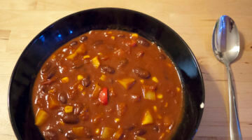 Heartwarming Spicy Vegan Chili Recipe