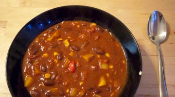 Heartwarming Spicy Vegan Chili Recipe