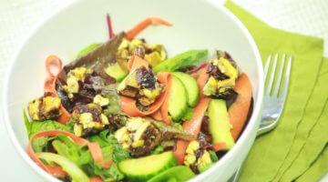Savory Pistachio Chewy Bite Salad