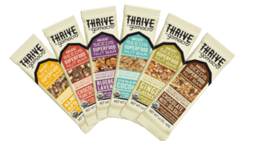 Thrive by GoMacro Vegan Nutrition Bars