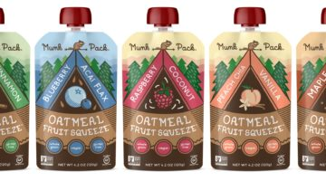 On The Go Delicious: Munk Pack Oatmeal Fruit Squeeze Pouches