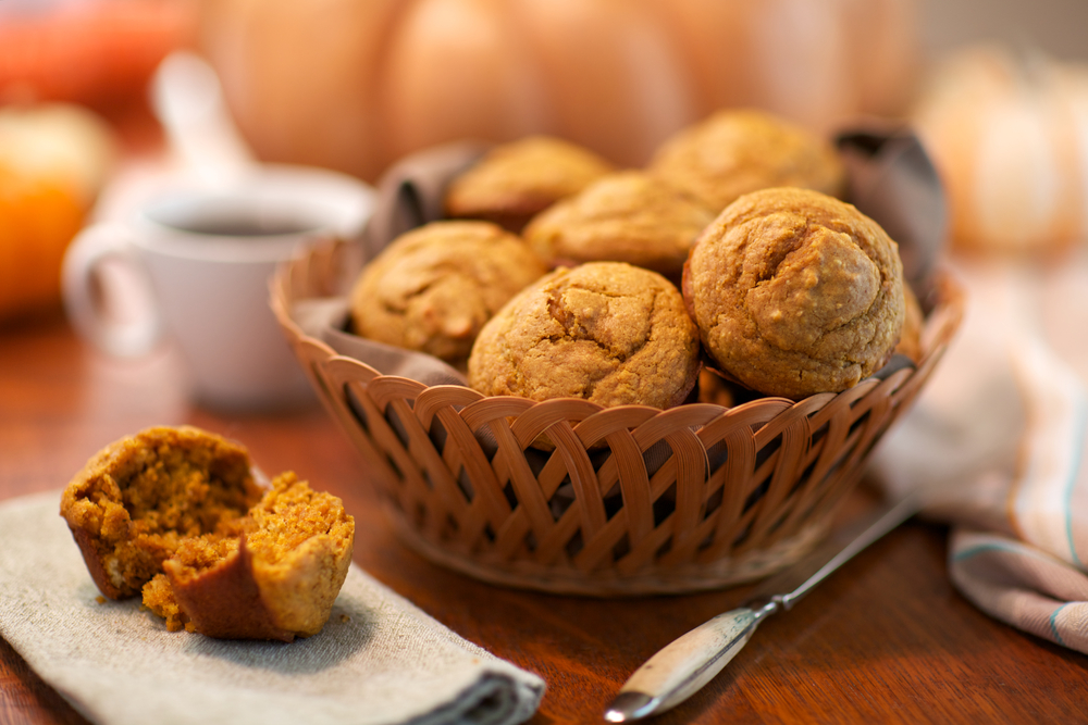 Egg-Free Pumpkin Muffins