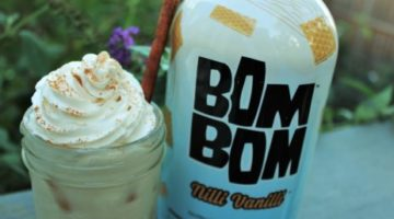 Drink BOM BOM: Vegan Liqueur Blended With Almond Milk