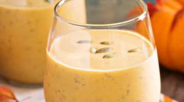 Vegan-Friendly and Deliciously-Creamy Mango, Coconut, Turmeric and Matcha Smoothie
